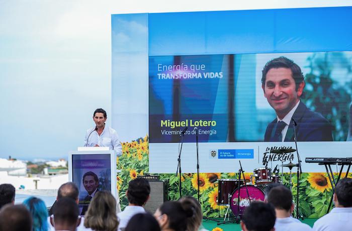 Viceministro de Minas y Energía, Miguel Lotero
